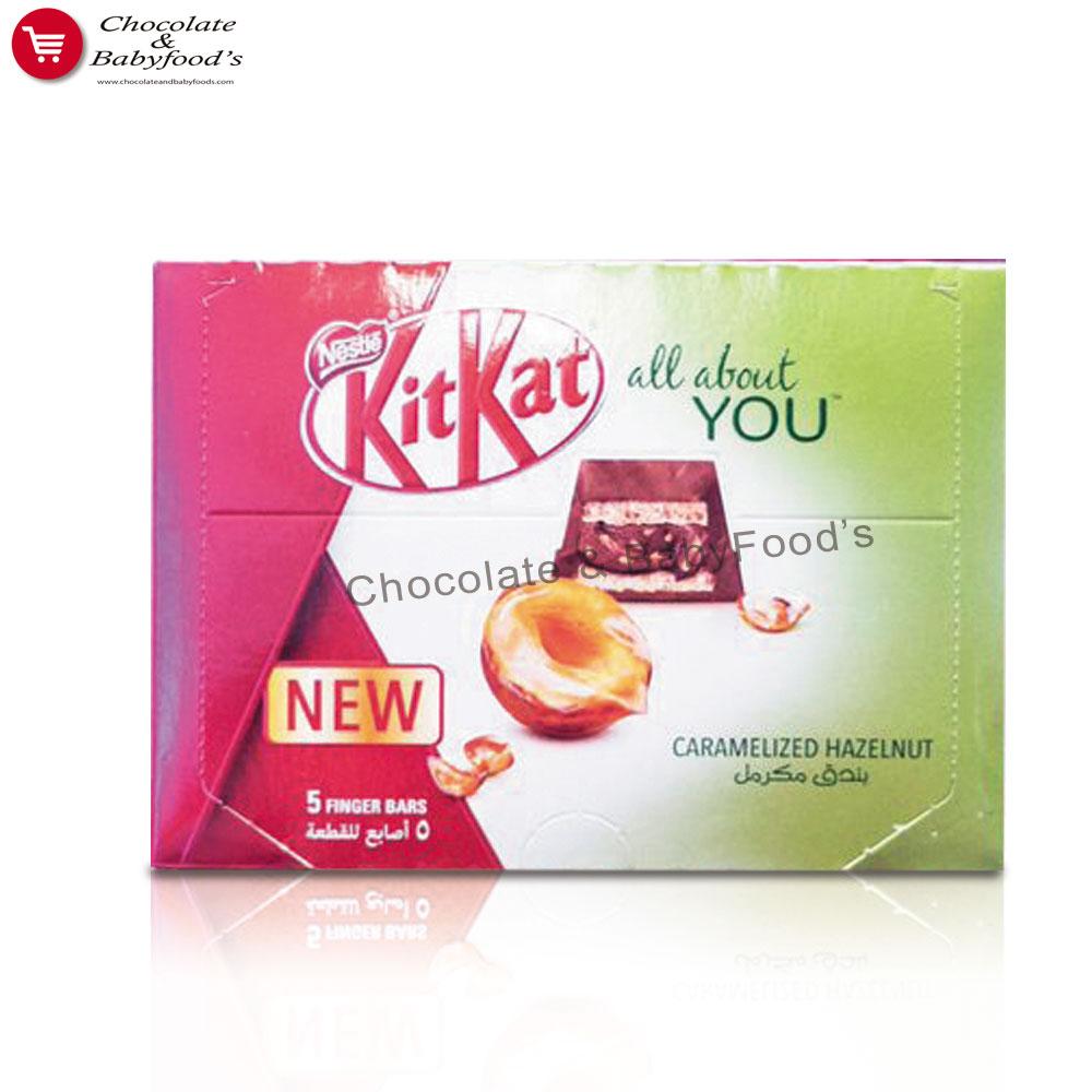 Kit Kat All About You Hazelnut