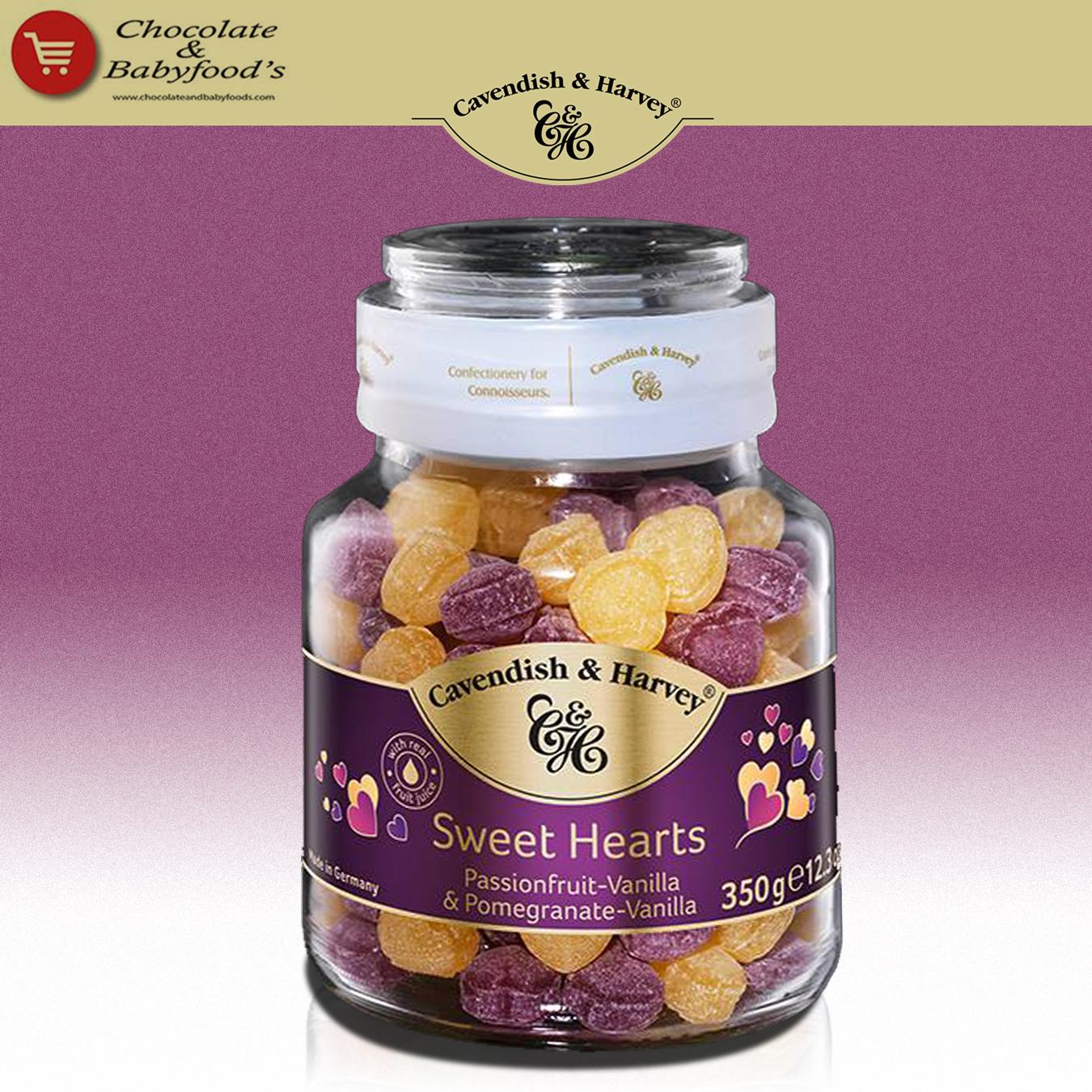 Cavendish & Harvey Sweet Heart Selections 350g