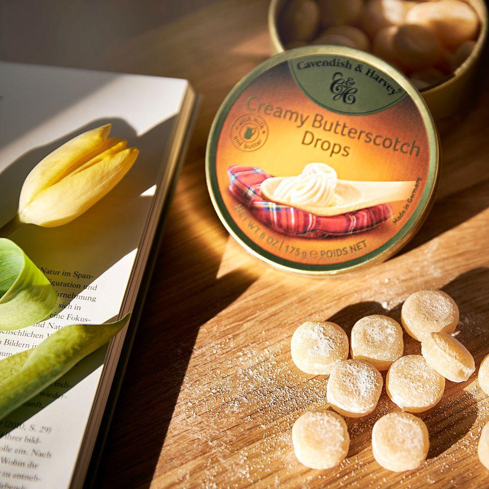 Cavendish & Harvey Creamy Butterscotch Drops 175g