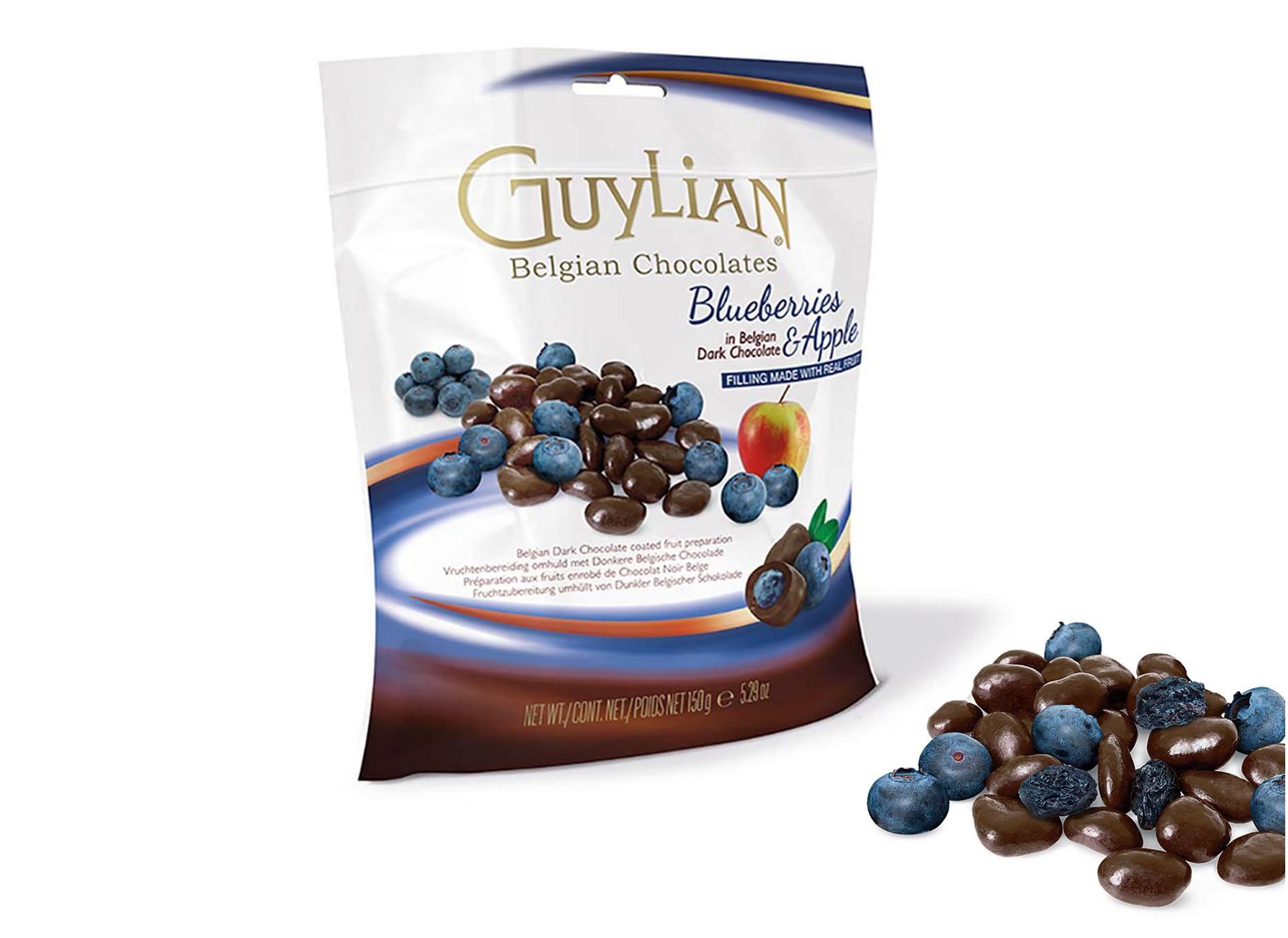 Guylian Belgian Chocolate Blueberries & Apple