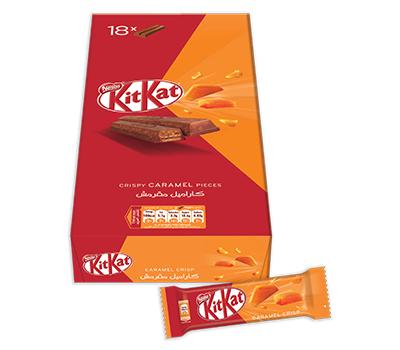 KitKat Have a break Crispy Caramel Pieces