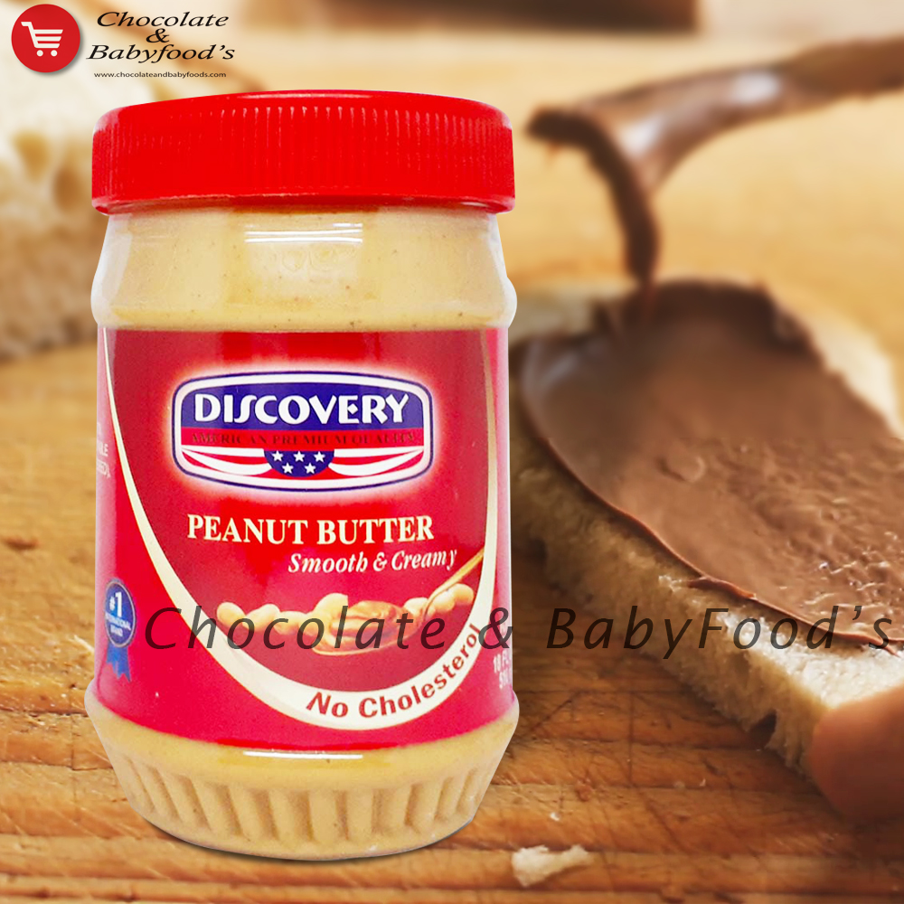 Discovery Peanut Butter Smooth & Creamy 510gm
