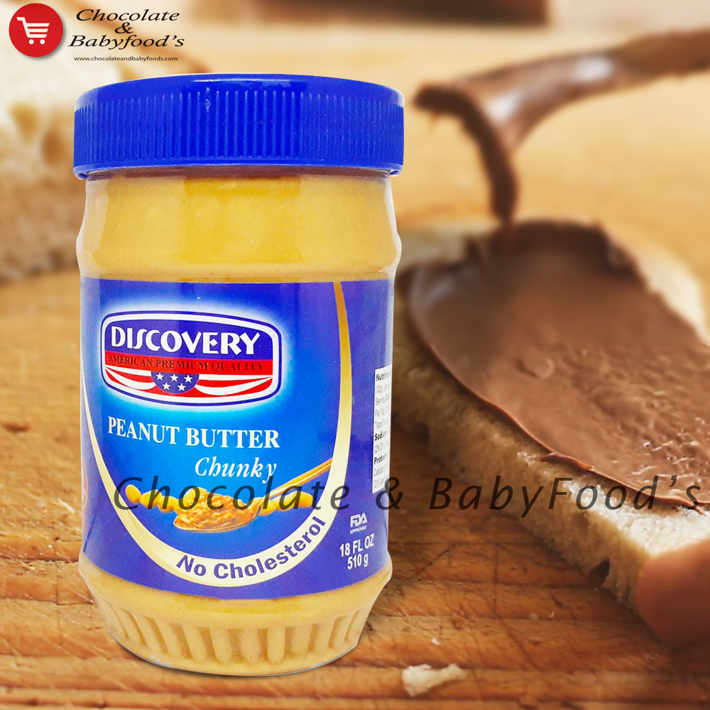 Discovery Peanut Butter Chunky 510gm