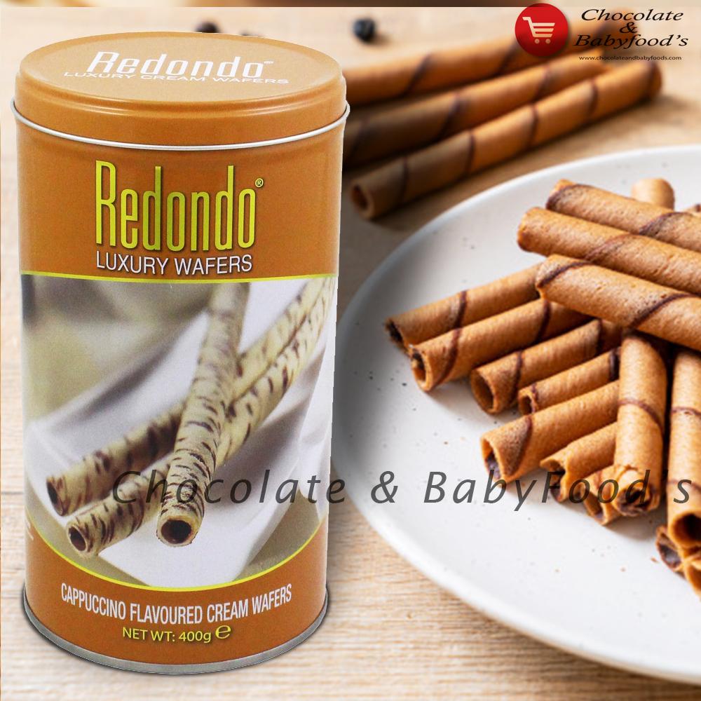 Redondo Cappuccino Cream Wafers 400g