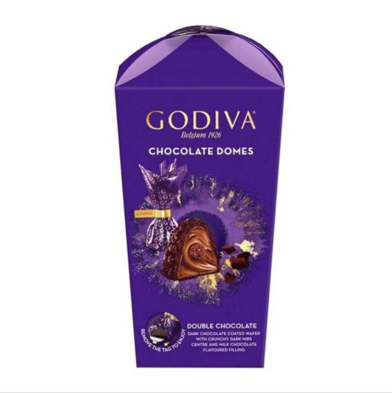 Godiva Chocolate Domes Double Chocolate 130g