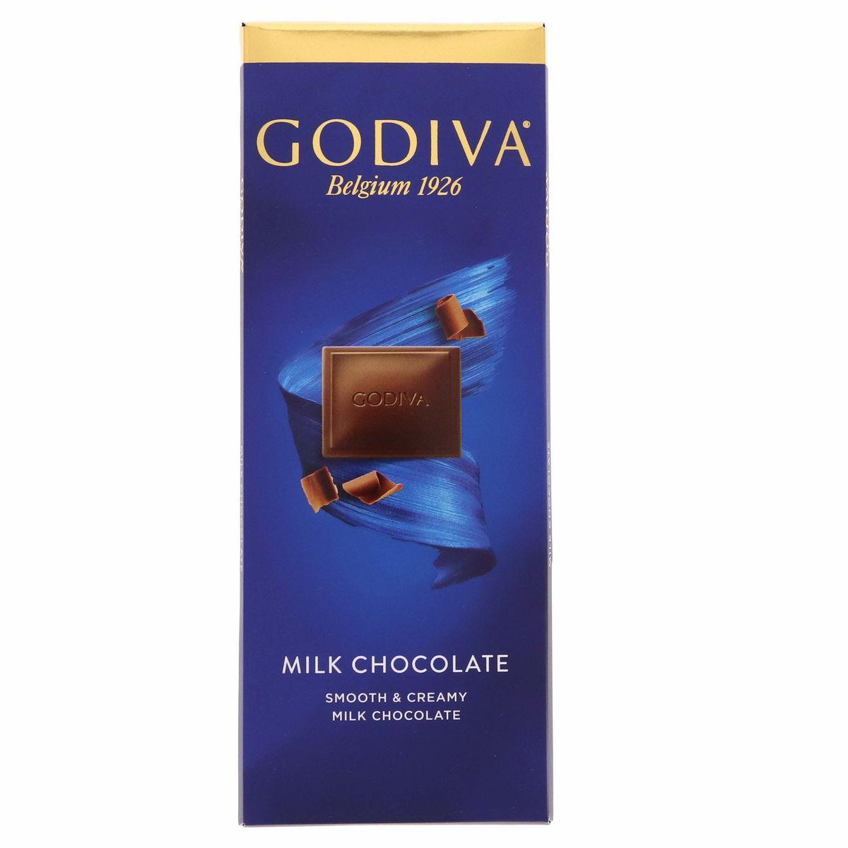 Godiva Smooth And Creamy Milk Chocolate 90g