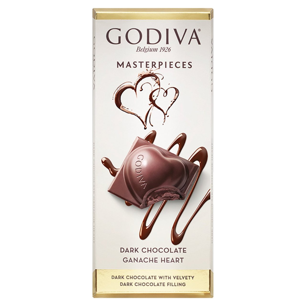 Godiva Master Pieces Dark Chocolate Ganache Heart 86g