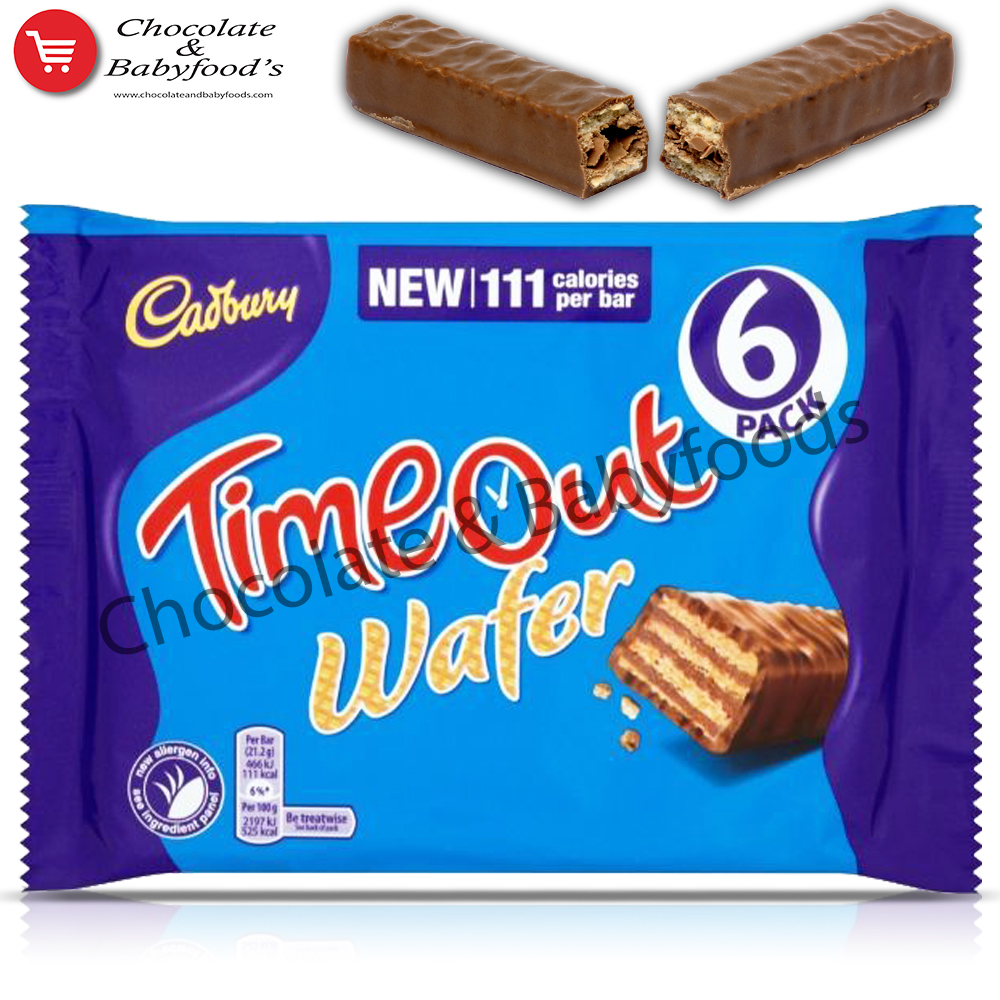 Cadbury Time Out Wafer 6pcs Pack