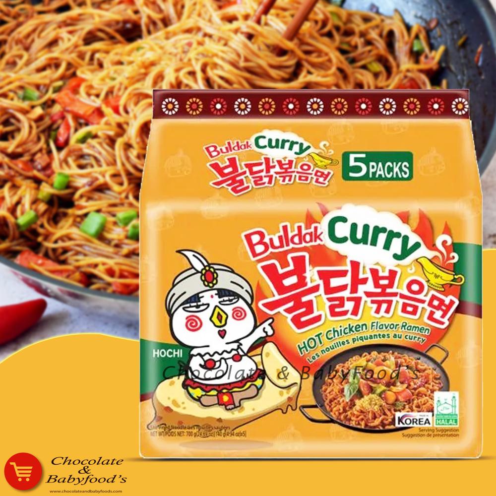 Samyang Buldak Curry Hot Chicken Flavor Ramen 700g