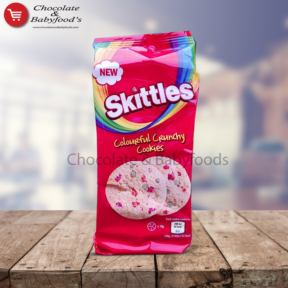 Skittles Colourful Crunchy Cookies 162g