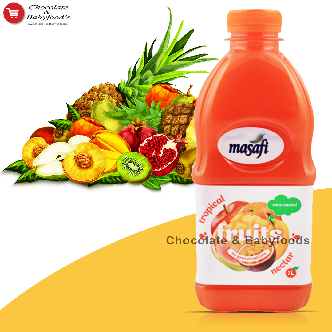 Masafi Tropical Fruits Nectar 2litre