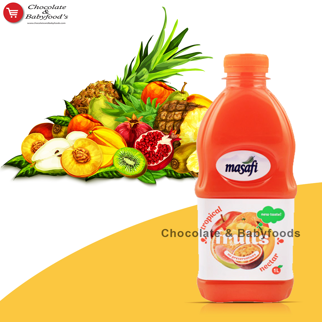 Masafi Tropical Fruits Nectar 1litre