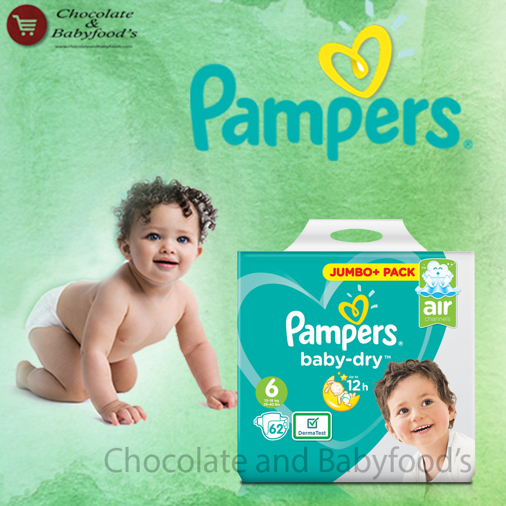 Pampers Jumbo pack Size- 6