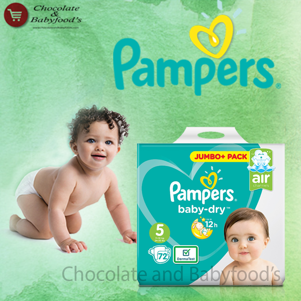 Pampers Jumbo pack Size- 5