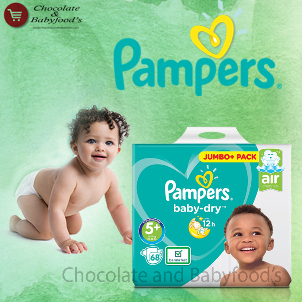 Pampers Jumbo pack Size- 5+