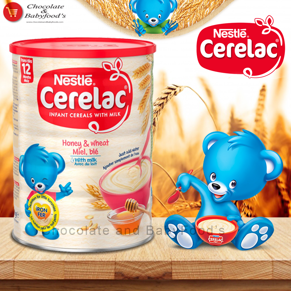 Nestle Cerelac Honey & wheat with Milk 1 kg