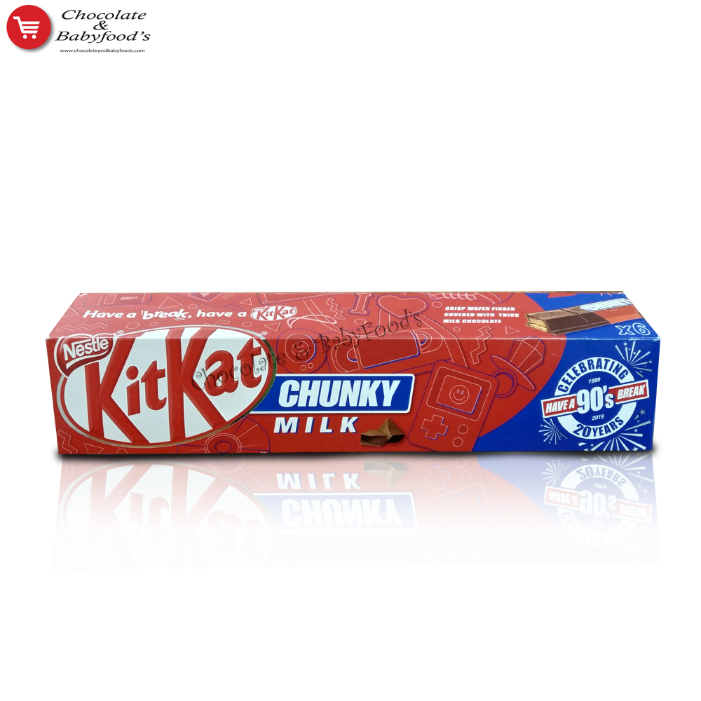 Kit Kat Chunky Milk 240gm