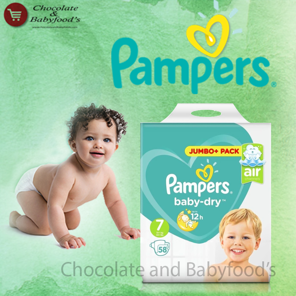 Pampers Jumbo pack Size- 7