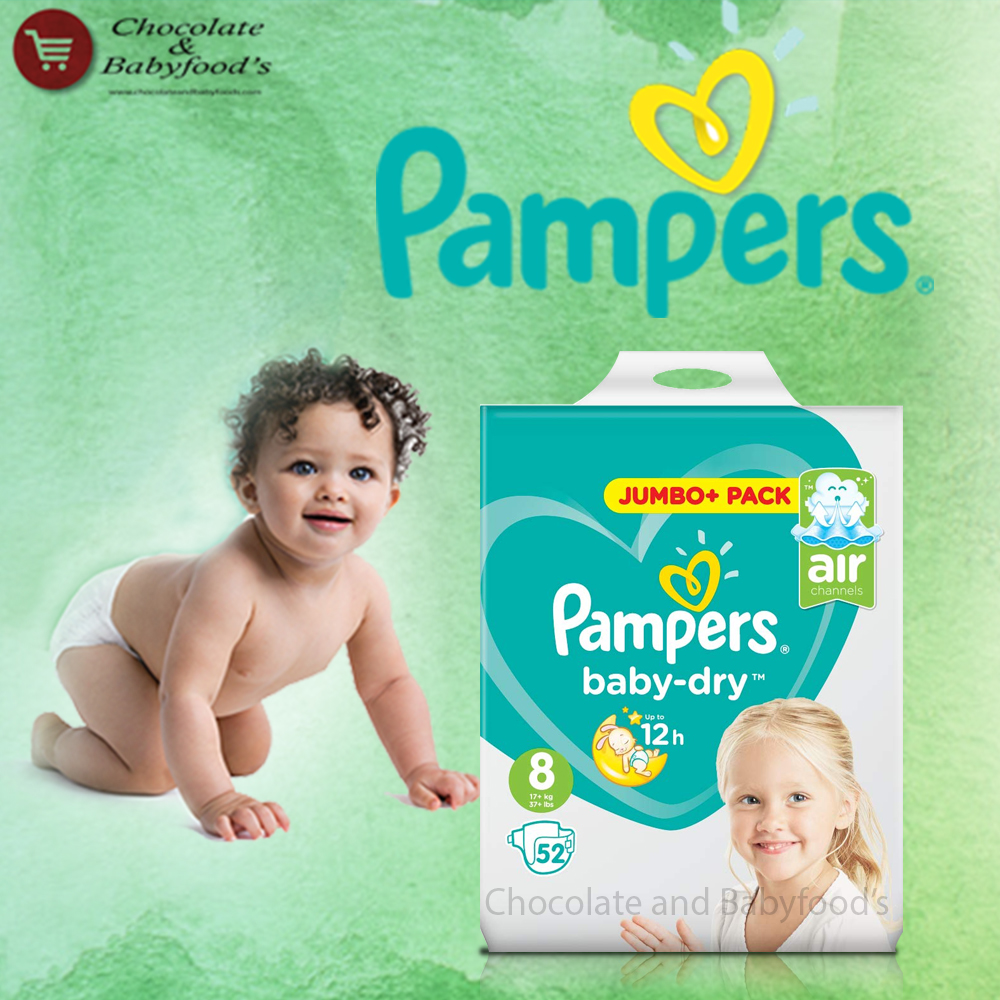 Pampers Jumbo pack Size- 8