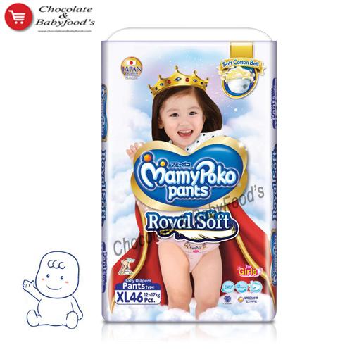 Mamy Poko Pants Royal Soft XL- 46 Girl's