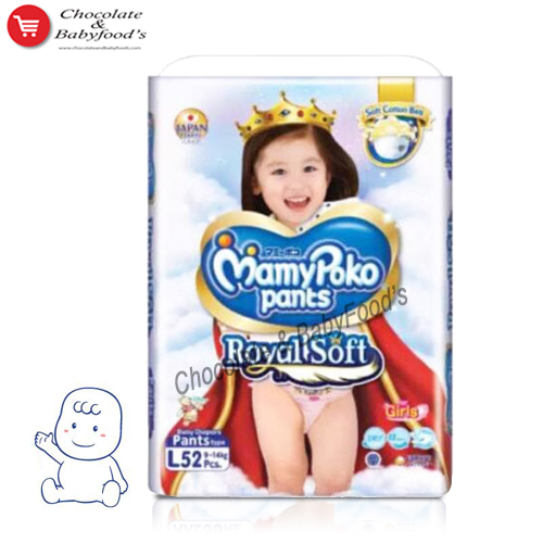 Mamy Poko Pants Royal Soft L- 52 Girls