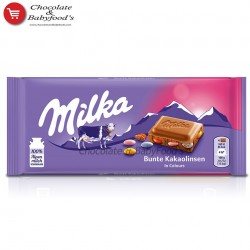 Milka Confetti Chocolate Bar