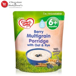 Cow & gate Berry Multigrain Porridge with Oat & Rye 125 gm