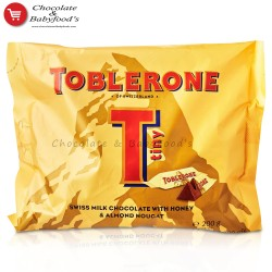 Toblerone Tiny Milk chocolate with honey & almond nougat