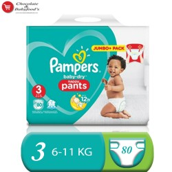 Pampers baby dry nappy pant jumbo pack size-3