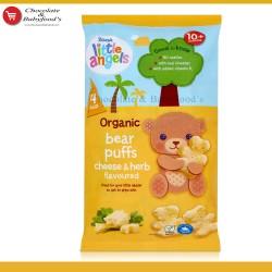 Asda Little Angels Organic Puffs Cheese & Herb bear puffs 10+ months