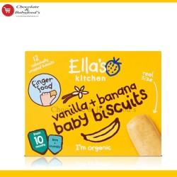 Ella's Kitchen Vanilla + Banana Baby Biscuits  from 10 months