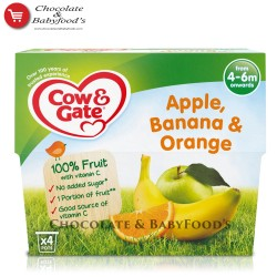 Cow & Gate Apple, Banana & Orange from 4+ months