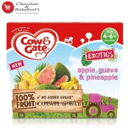 Cow & Gate Apple,Guava & Pineapple from 4+ months