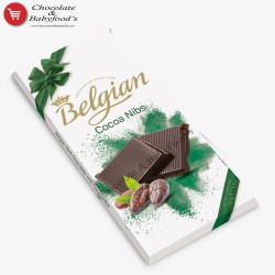 Belgian Cocoa Nibs Chocolate Bar