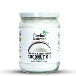 Ceylon Naturals Organic Extra Virgin Coconut Oil 500ml