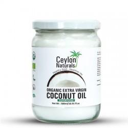 Ceylon Naturals Organic Extra Virgin Coconut Oil 500ml