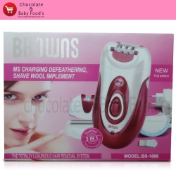 Browns Luxurious Hair Removal System Model: BS-1888