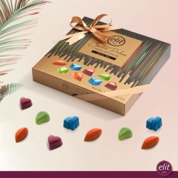 Elit Hearts Chocolate Praline Taste of Color