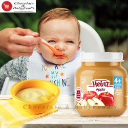 Heinz apple custard 110gm