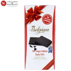 Belgian Dark 70% No Added Sugar