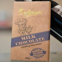 Belgian Milk Chocolate 200g