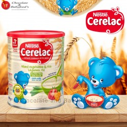 Nestle Cerelac Mixed Vegetables & Rice with milk