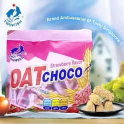 TwinFish Oat Choco Strawberry Flavor