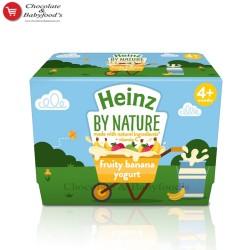 Heinz fruity banana Yogurt 4+month
