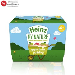 Heinz apple & oat pudding From 4+ mnth