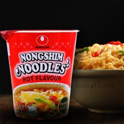 Nongshim Noodles Hot Flavour