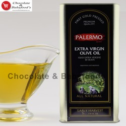 Palermo Extra Virgin Olive Oil All Natural 5litter
