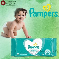 Pampers Sensitive wipes 52pc's