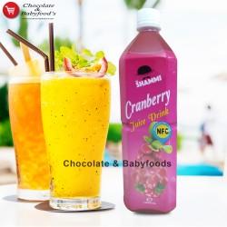 Mr. Shammi Cranberry Juice Drink 1000ml