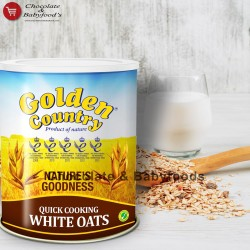 Golden Country Quick Cooking White Oats 500gm